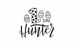 Easter SVG Bundle. Hunting Season SVG set. Easter egg SVG Product Image 2