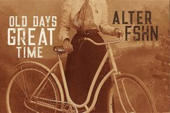 Alter - Vintage Style Font Product Image 4