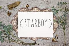 Starboy. Handwritten typeface. Product Image 1
