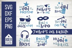 Father's day bundle, great quotes for dads, cutting files Product Image 1