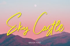 Sky Castle Brush Product Image 1