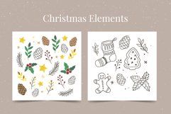 Christmas set | Frames | Patterns | Lettering | Elements Product Image 2