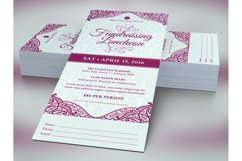 Fundraising Luncheon Ticket Template Product Image 4
