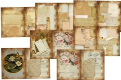 House and Garden Vintage Journal Scrapbook Kit PDF Product Image 5