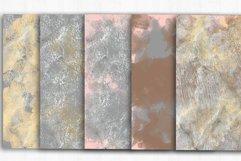 Gold Damask Digital Papers, Grunge, Damask Seamless Patterns Product Image 4