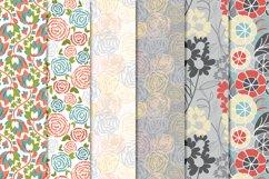 Floral Pattern Bundle - Vectors Product Image 4