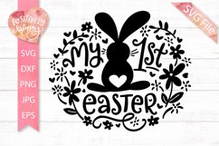 My 1st Easter SVG File, My First Easter Svg, Baby Girl, Boy Product Image 1