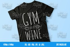 Gym Coffee Wine SVG| PNG | EPS| Coffee| Digital Download Product Image 2
