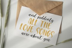 September Night. Font Duo Product Image 2