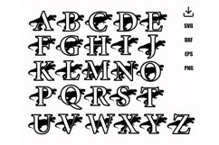 Layered DINOSAURE and TREX FONT Product Image 5