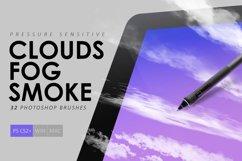 Clouds, Fog, Smoke Photoshop Brushes Product Image 1