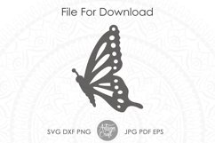 Butterfly Earrings SVG Earrings SVG, Cut file Product Image 3