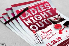 Girls Night Out Flyer Template Product Image 3