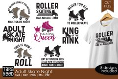 Adult Skate Night - Roller Skating SVG and Cut Files Product Image 1