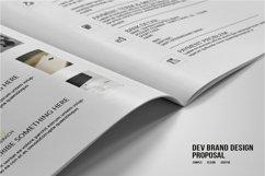 DEV Brand Design Proposal Template Product Image 2