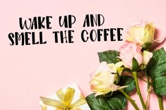 Morning Sunshine - A Silly Hand Lettered Font Product Image 5