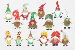 Christmas Clipart, Christmas Gnomes, Gnome Clipart Product Image 6