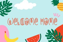 Happy Summer - Decorative Display Font Product Image 2