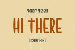 Web Font HI THERE Font Product Image 1