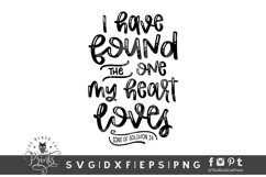 I Have Found The One My Heart Loves SVG   Bible Verse SVG Product Image 1