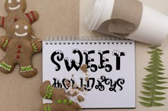 Snow-covered display font Product Image 3