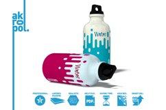 Water Bottle Mock-up Product Image 5