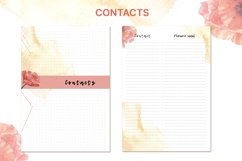 Printable undated planner's sheet A5 Product Image 6