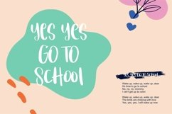 Web Font Baballe - Cute Kids Font Product Image 3