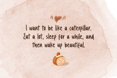 Caramel Chestnut - Handwritten Font Product Image 6