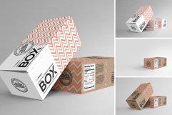 Long Top Tuck Auto Bottom Box Packaging Mockup Product Image 3