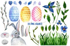 Watercolor set for Easter Product Image 2