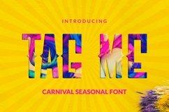 Web Font Tag Me Font Product Image 1