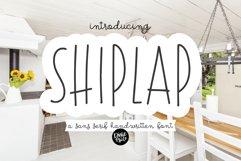 SHIPLAP a Sans Serif Farmhouse Font Product Image 1