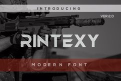 Rintexy Font Product Image 1