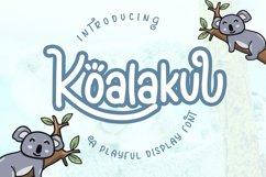 Koalakuu Playful Font Product Image 1