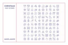 Line Icons - Christmas Product Image 6