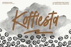 Koffiesta Handwritten Font Product Image 1
