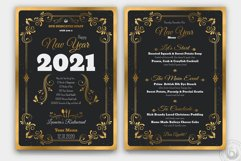 New Year Menu Template Product Image 1
