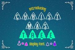 Christmas Tree Display font Product Image 1