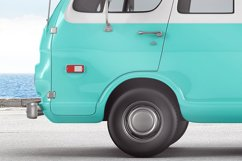 Van With Surfboard Branding Mockup Product Image 3