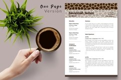 Animal Care Resume Template for Word & Pages Savannah James Product Image 2
