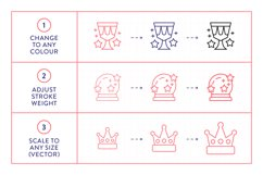 Line Icons - Fairy Tale Product Image 3