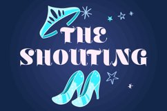 THE SHOUTING FONT Product Image 1