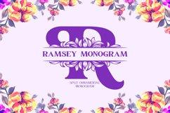 Ramsey Monogram Font Product Image 1