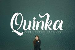 Quinka - A Casual Script Font Product Image 1