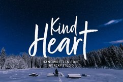 Kind Heart Font Duo Product Image 2