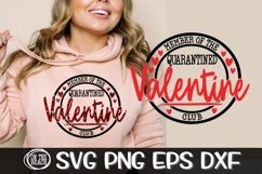 Member Of The Quarantined Valentine Club - SVG PNG DXF EPS Product Image 1
