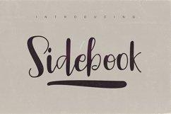 Sidebook Script Font Product Image 2