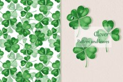 Clover. Watercolor set Product Image 1