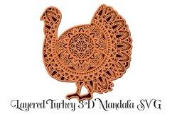 Thanksgiving Mandala SVG Bundle - 3D Layered Mandalas Product Image 4